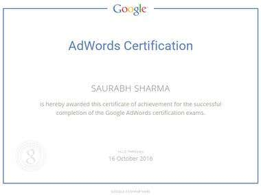 Google‬ Adwords‬ Certification