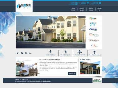 Real Estate Corporate Website
