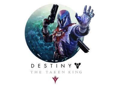 Destiny: The Taken King for a T-Shirt