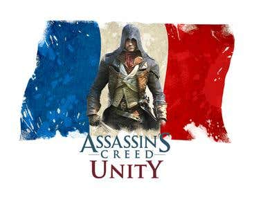 Asassin\'s Creed: Unity for a T-Shirt