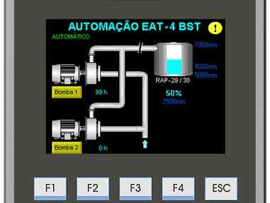PLC & SCADA Automation Project