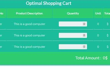 shoppping cart
