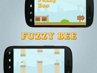 Fuzzy Bee (Flappy Bird clone)
