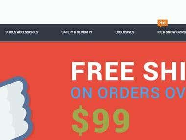 Magento -- eCommerce Store