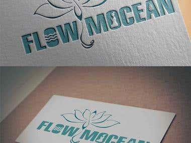 FlowMocean Logo Design