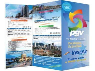 Diseño de brochure promocional