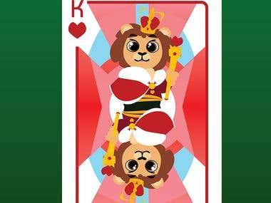 Cartoon Play Cards