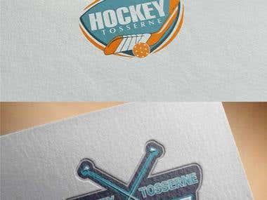 """Hockey Tosserne\"" Logo Design"
