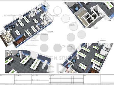 004 - 3D floor plan