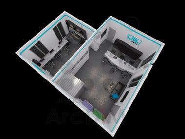 003 - 3D floor plan