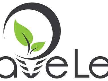 SaveLed Logo design