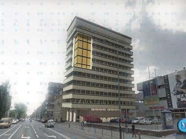 Office building 3D  design