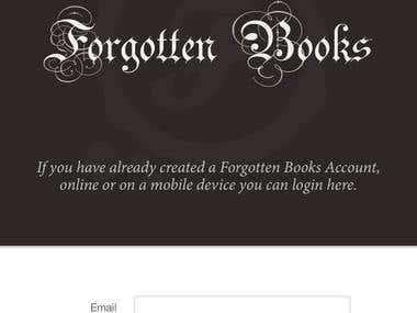 Forgotten Books App