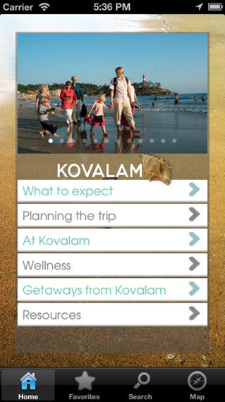 The Kovalam App