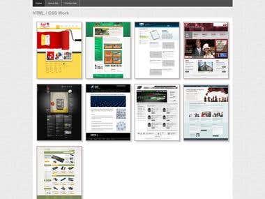Html and CSS portfolio