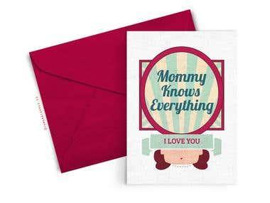 Mom & Dad Card
