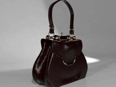 3D Model Women Bag