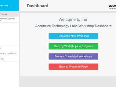 Accenture Workshop Portal