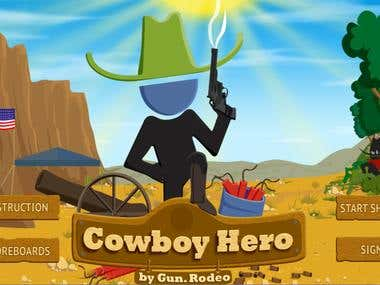 Gun Rodeo Game