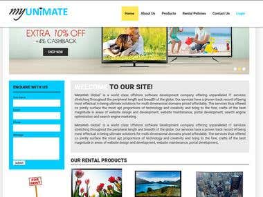 Rental Quote Website