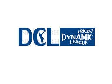 DCL cricket league logo