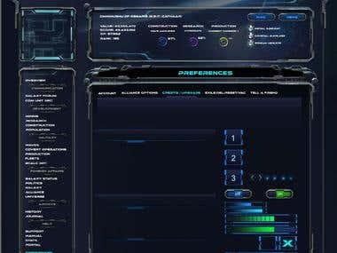 Game skin design