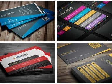 Stunning Modern Business Card Designs