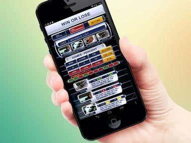 Street Player UI Design Screens