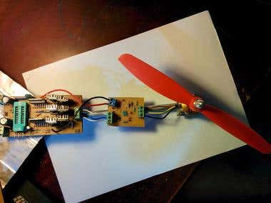 Electronic Speed Controller for Brushless DC Motor(HandMade)