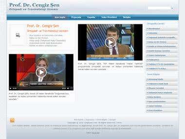 Prof. Dr. Cengiz Şen Web Sitesi