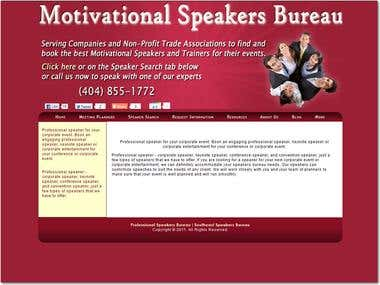 Motivational Speakers Bureau