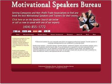 Motivational Speakers Bureau