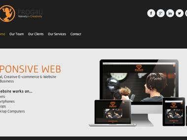 Frog4U Website