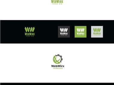 Webwirx Logo Design