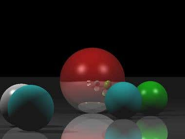 C++ Raytracing implementation