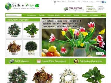 eCommerce flower shop