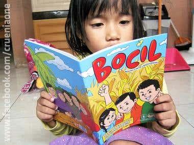 Bocil, a comic book