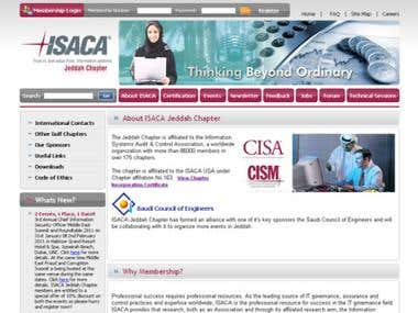 ISACA Jeddah Chapter Portal
