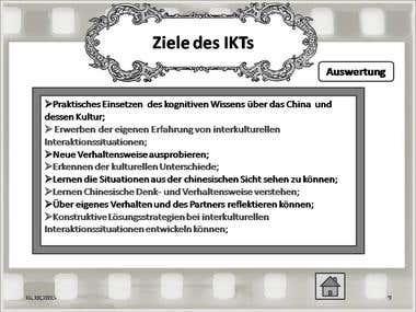Презентация научного доклада на немецком языке