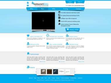 Restaurantdiary web design