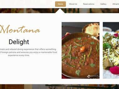 Montana Lodges Hotel & Restaurant website