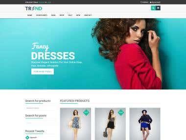 Trend Website