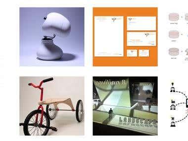Gloria Viganò portfolio web -  http://gloriaviganodesign.com