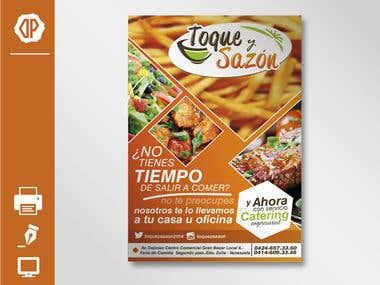 Flyer Design / Toque y Sazón