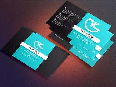 VK INFOTECH Corporate Identity