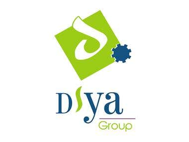 Diya Group Website and Logo