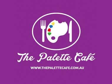The Palette Cafe Website, SEO, Business Card