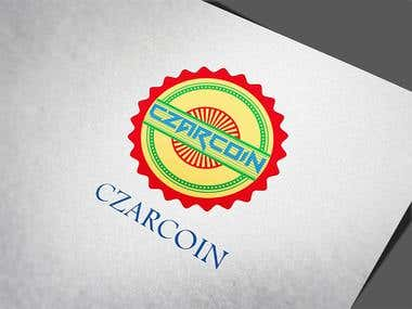 CZARCOIN Logo and Coin design