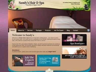 SandysHairAndSpa.com