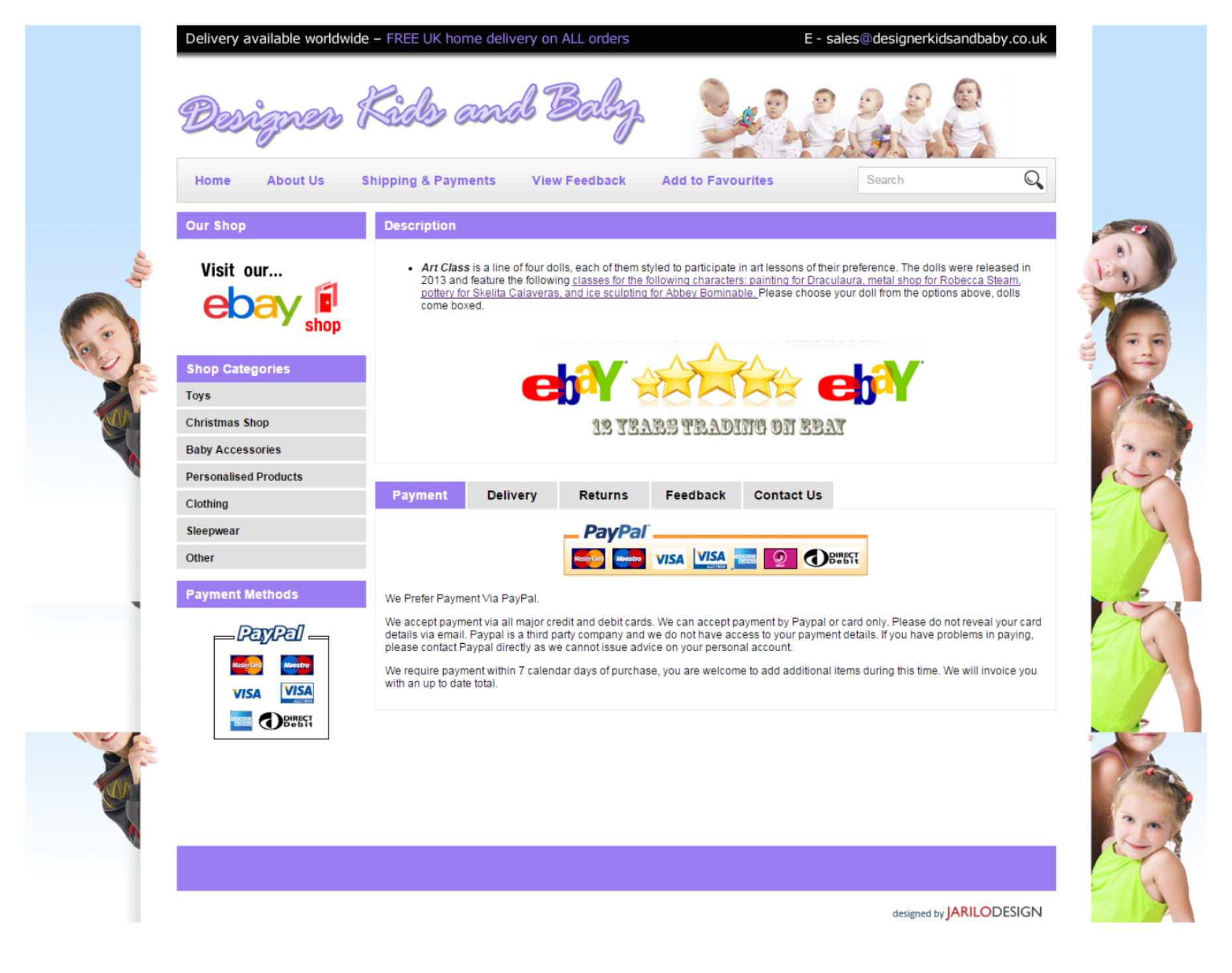 Ebay Template change & product listing